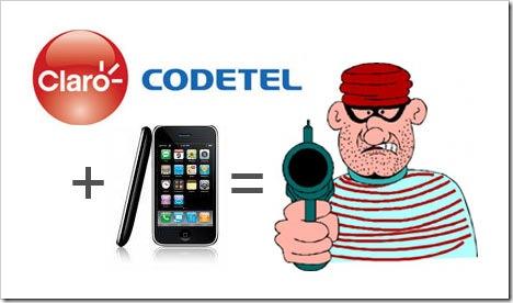 Estafa y Seguridad de Claro Codetel, República Dominicana.