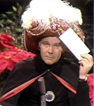 Celebritology 2.0 - Comment Box: For Stars, It Pays to Marry  |Amazing Carnac Johnny Carson Bit