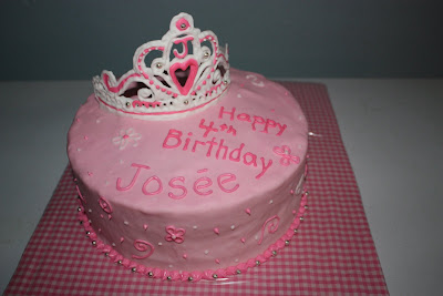 Sew Sweet Princess Birthday Cake