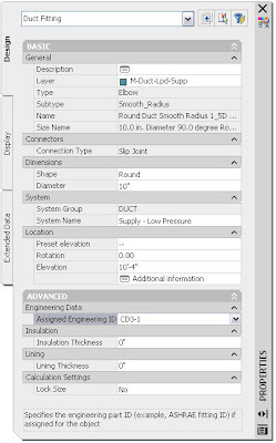 Calculations | AutoCAD MEP
