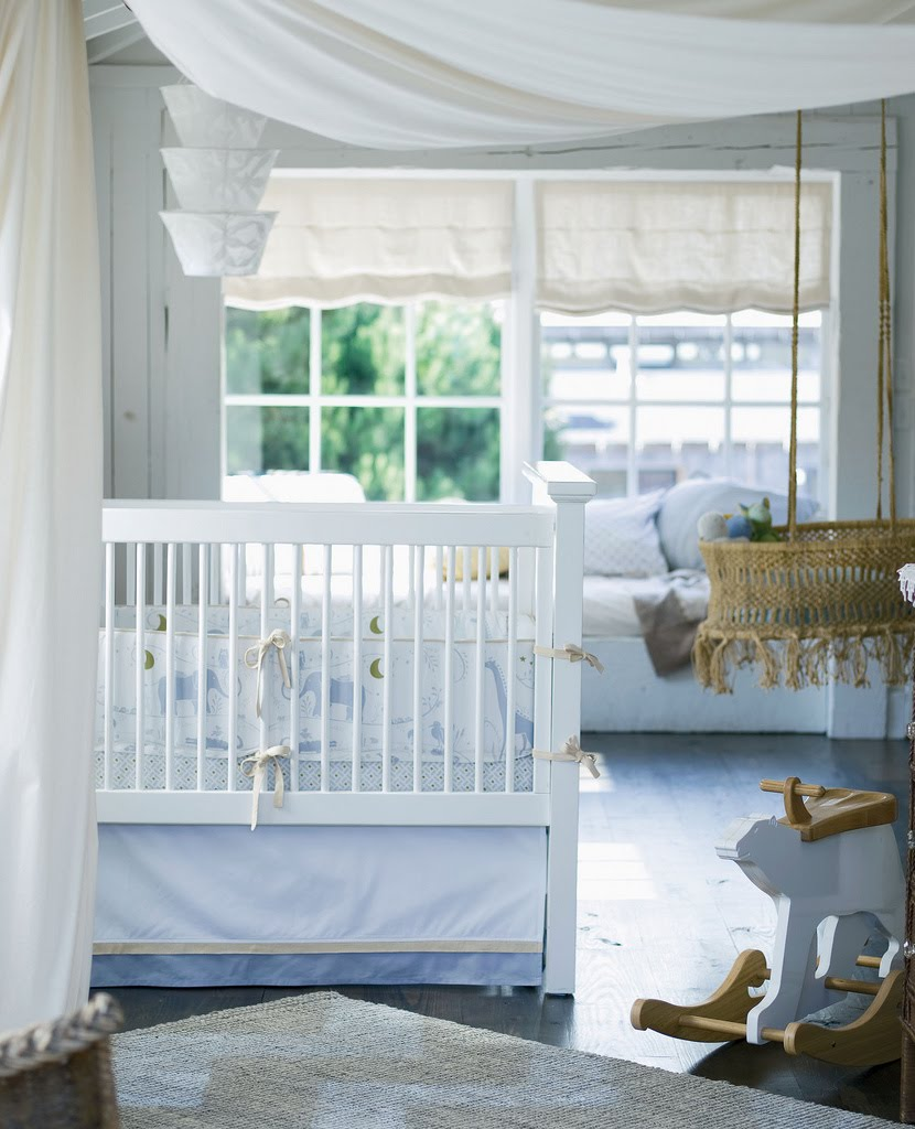 Your Little One Will Love These 8 Gender Neutral Nurseries: Vintage Girl: Oh, Baby
