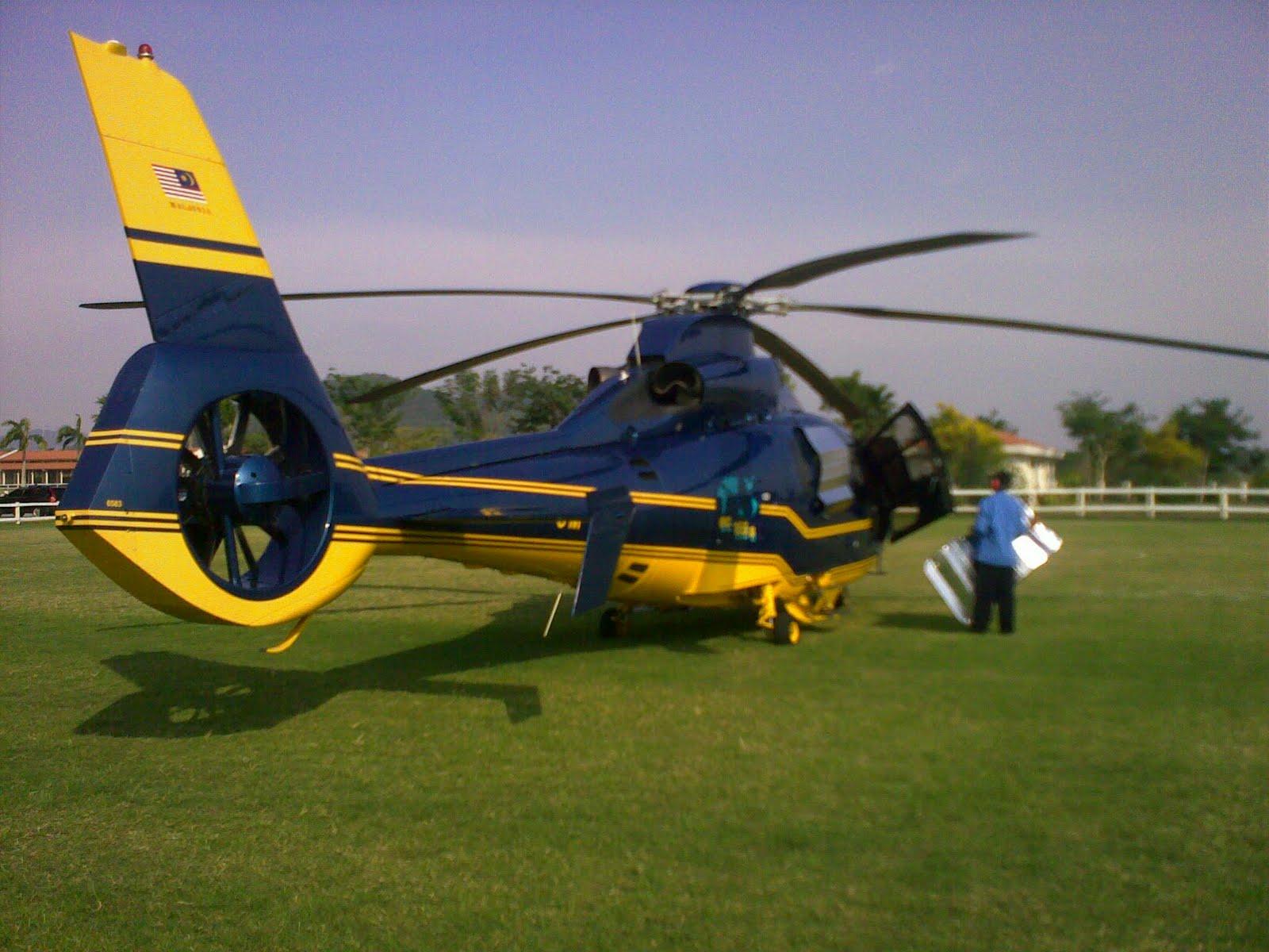 Azril Nazli Alias: Helikopter Sultan Pahang 9M-SAS