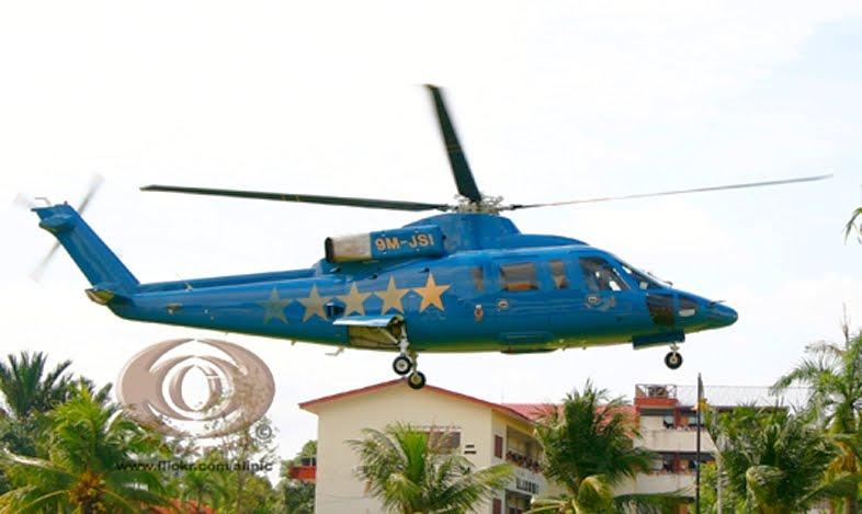 Azril Nazli Alias: Helikopter Sultan Johor 9M-JSI