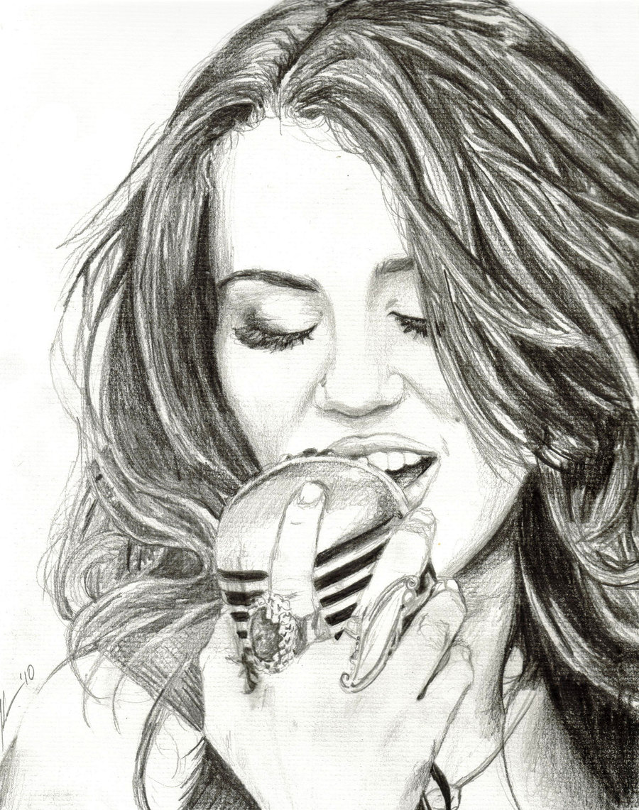 Miley Cyrus Drawings Of Miley Cyrus