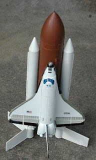 Estes Space Shuttle Luanch - Pics about space