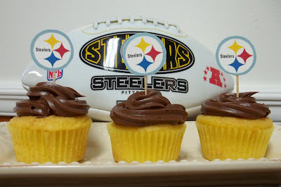 Pittsburgh Steeler Cupcakes