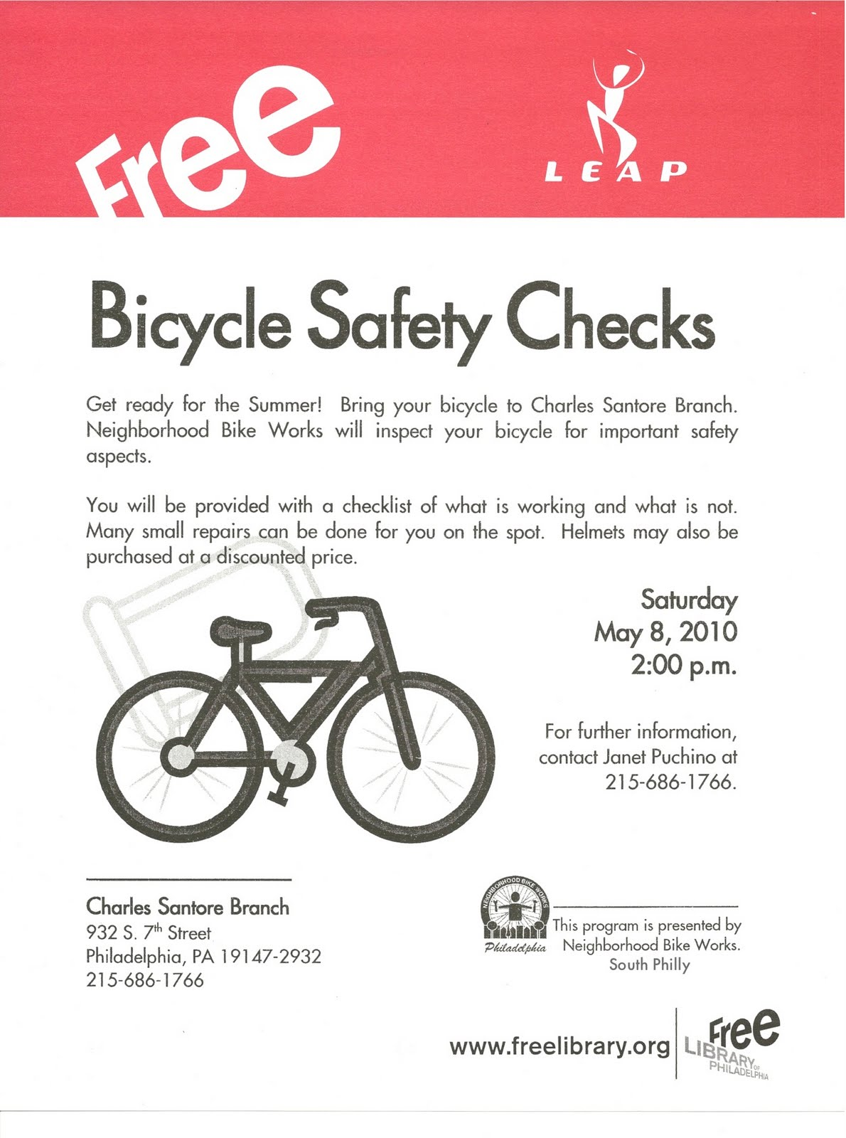 Industrial Bike Safety Program Free Programs Utilities