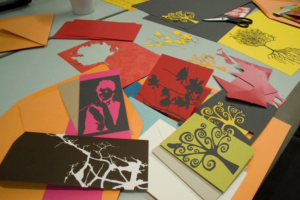 broadway paper card making workshop
