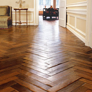 Design Studio B Wide Plank Floors Herringbone Pattern