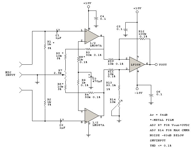 Transformerless (Balance Inputs) Microphone Preamp ... on receiver schematic, vibrato schematic, wireless schematic, reverb schematic, power schematic, amp schematic, switch schematic, tremolo schematic, rectifier schematic, keyboard schematic, input schematic, speakers schematic, computer schematic, distortion schematic, compressor schematic, radio schematic, guitar schematic, tube schematic,
