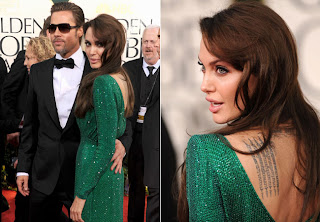 2 Angelina Jolie no Golden Globe Awards!