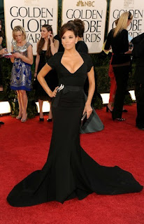 0 Eva Longoria no Golden Globe 2011