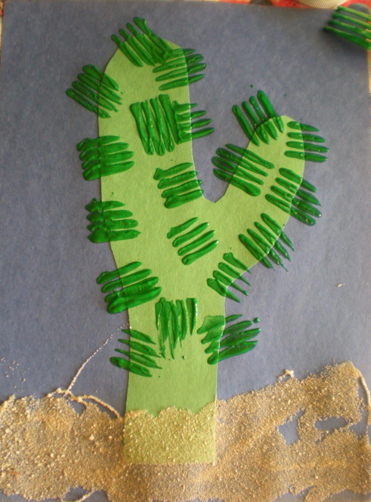Preschool Cactus Craft