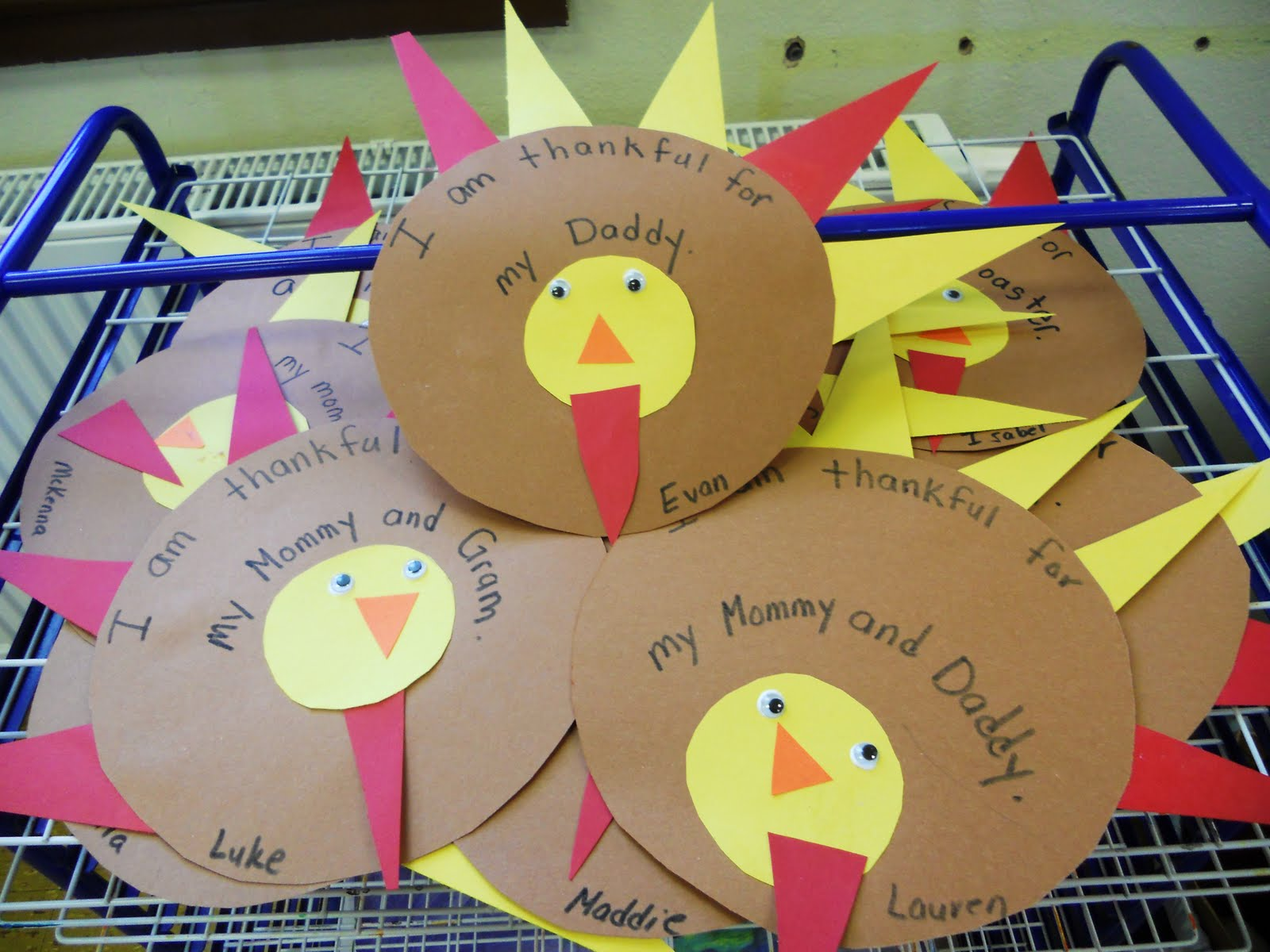 Preschool Playbook Lots To Be Thankful For