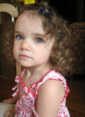 The Study Of Styling The Curly Haired Toddler By A Straight Haired Mom Grasping For Objectivity