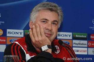 Belakangan terdengar rumor yang menyampaikan bahwa Carlo Ancelotti tak akan melatih AC Mila Terkini Ancelotti Adalah Masa Depan Milan