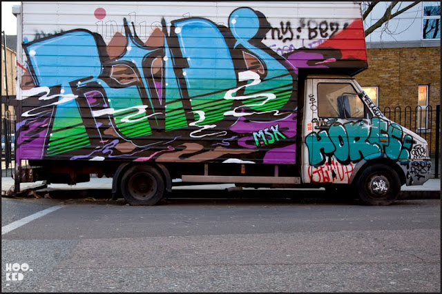 fdda4b39bbf2 East London Van Graffiti