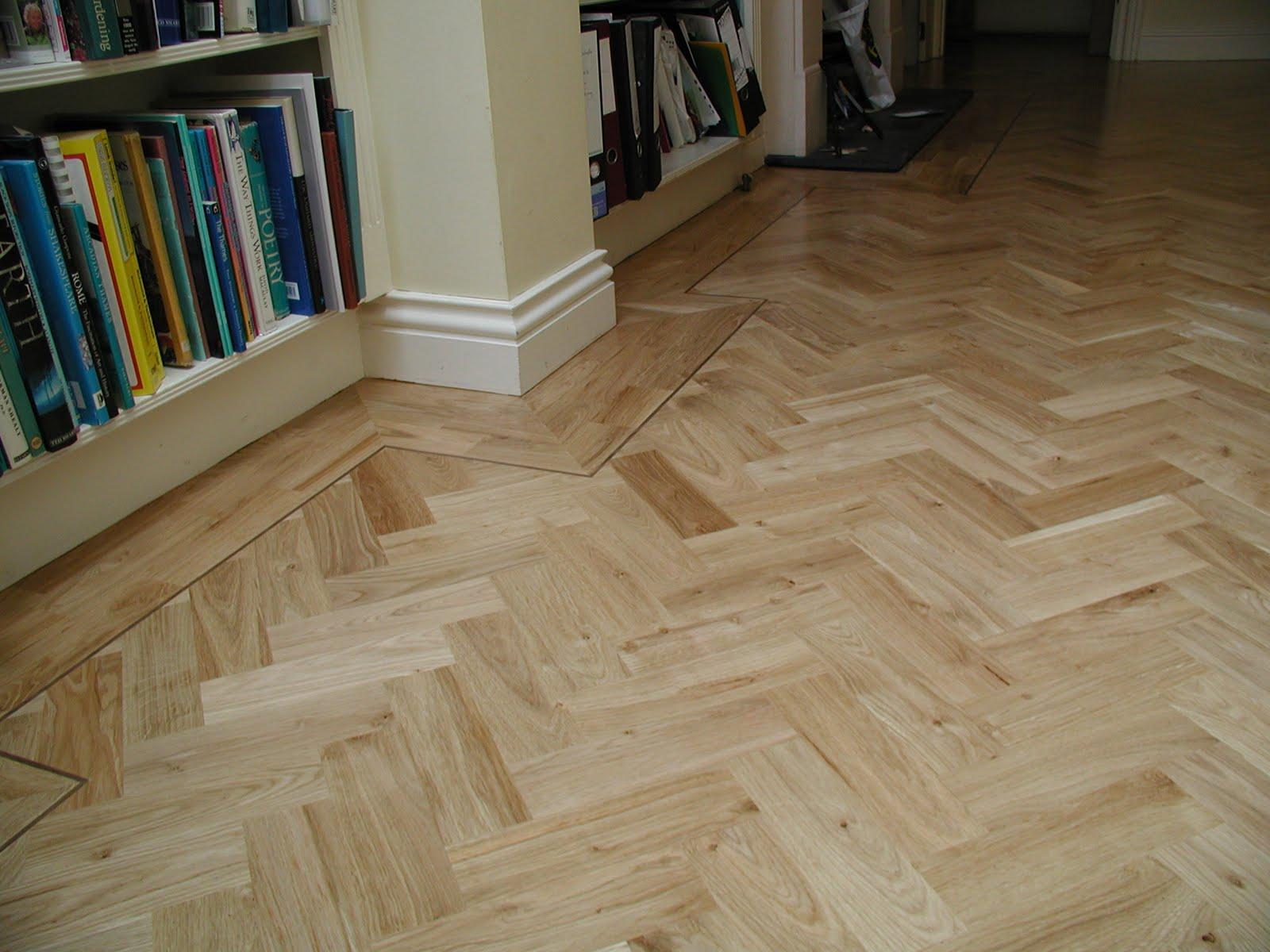 Acacia Wooden Floors Rustic Oak Herringbone Parquet