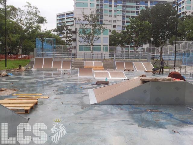 Lion City Skaters Yishun Skatepark Active Park