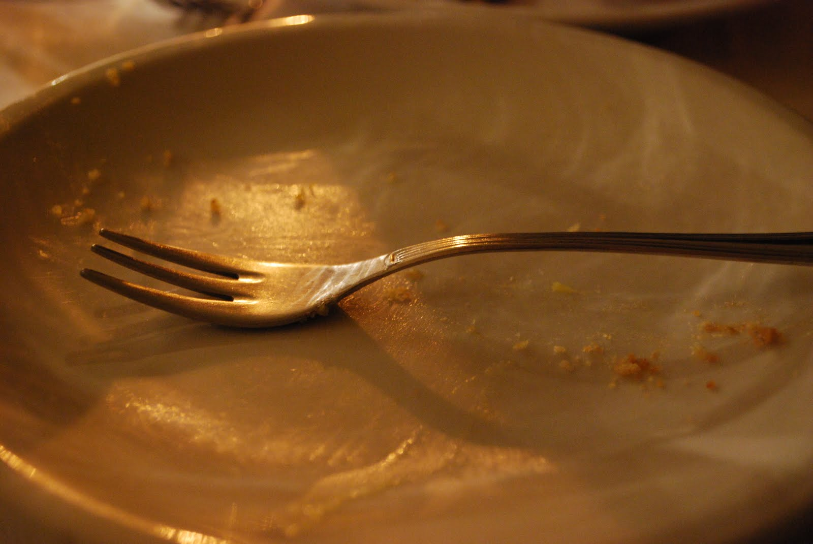 Empty Plate Of Food Fast