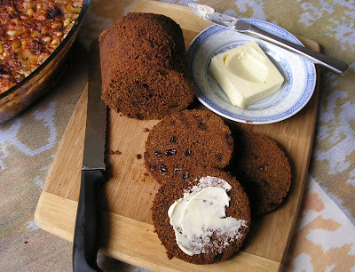 Boston Brown Bread with Butter