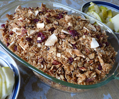 Sunflower Honey Granola