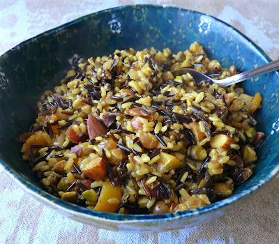 Fruit and Nut Pilaf with Wild Rice