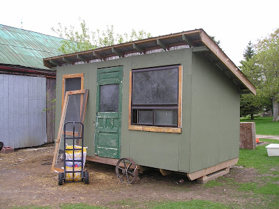 Stone Meadow Mobile Chicken Hut