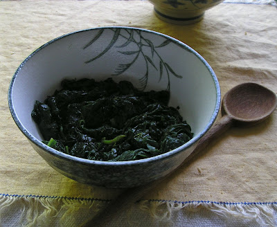 Rosemary Spinach