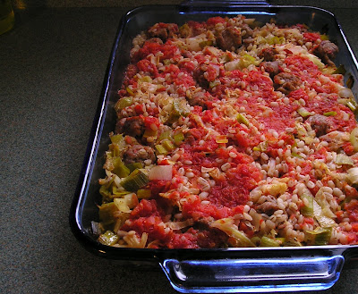 Sausage and Barley Casserole