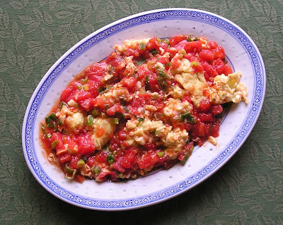 Chinese Style Eggs with Tomatoes