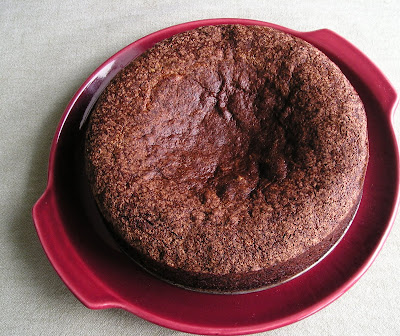 Unsuccessful Cocoa Sponge Cake