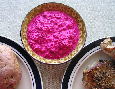 Beet and Horseradish Sauce for Beef