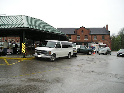 Outside Owen Sound Farmers Market