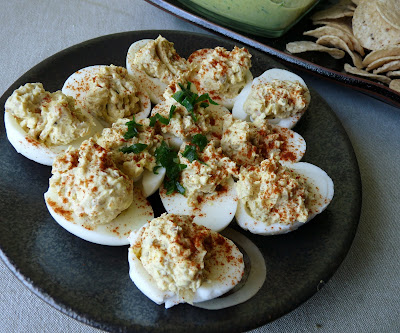 Meek and Mild Devilled Eggs