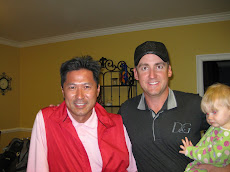Golfer, Ian Poulter and TAKA