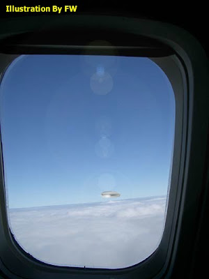 Flying Saucer Spotted Near La Guardia