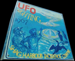 Shag Harbour UFO Festival Sign