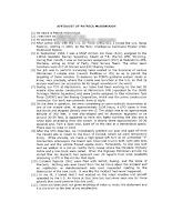 Patrick McDonough  Affidavit (Pg 1)