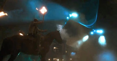 UFO On Attack in Cowboys & Aliens