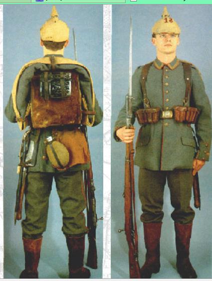 German Army Uniform colour WW1? | planetFigure | Miniatures