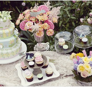Alice in Wonderland Chic Party Ideas