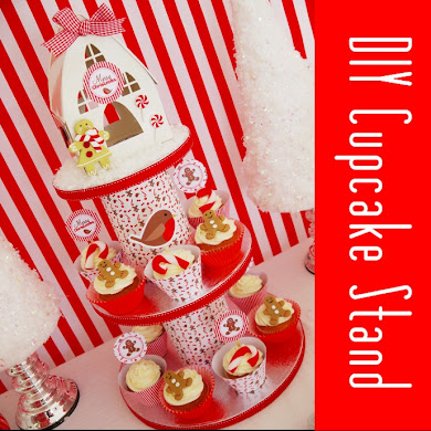 Party Tutorial | DIY Cupcake Stand