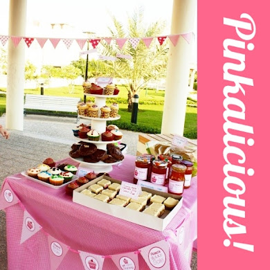 A Pinkalicious Lemonade Stand Party