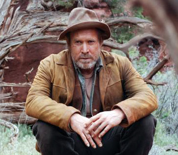Will Patton as Henry on the set of The Canyon movie