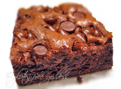 Gluten free brownies that are rich and full of chocolate goodness