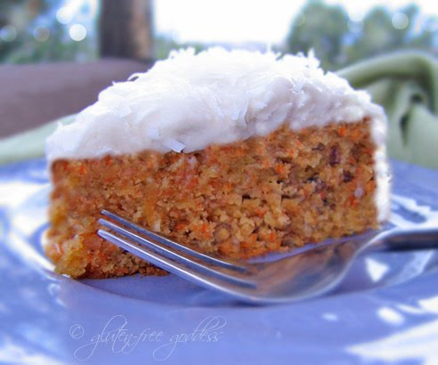 Gluten-free carrot cake recipe made with Pamela's Baking Mix