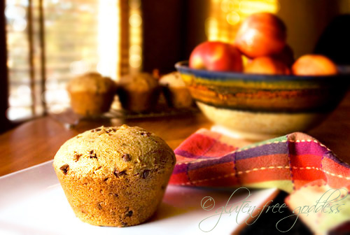 Gluten-Free Goddess® Recipes: Big Banana Muffins (Gluten-Free)