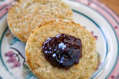 Gluten-Free Goddess Recipes: Gluten-Free English Muffins Recipe