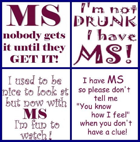 Living Day to Day with Multiple Sclerosis: More MS Slogans ...